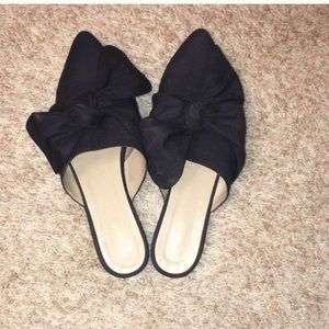 Black mules from Topshop with bow!